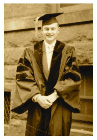 Sherwin B. Nuland graduation