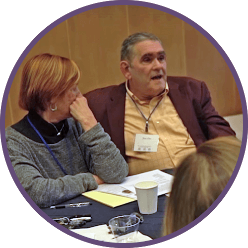 Doctors discussing Palliative Care