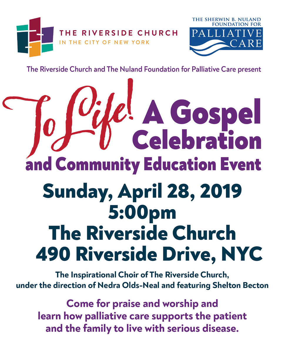 To Life! A Gospel Celebration 2019